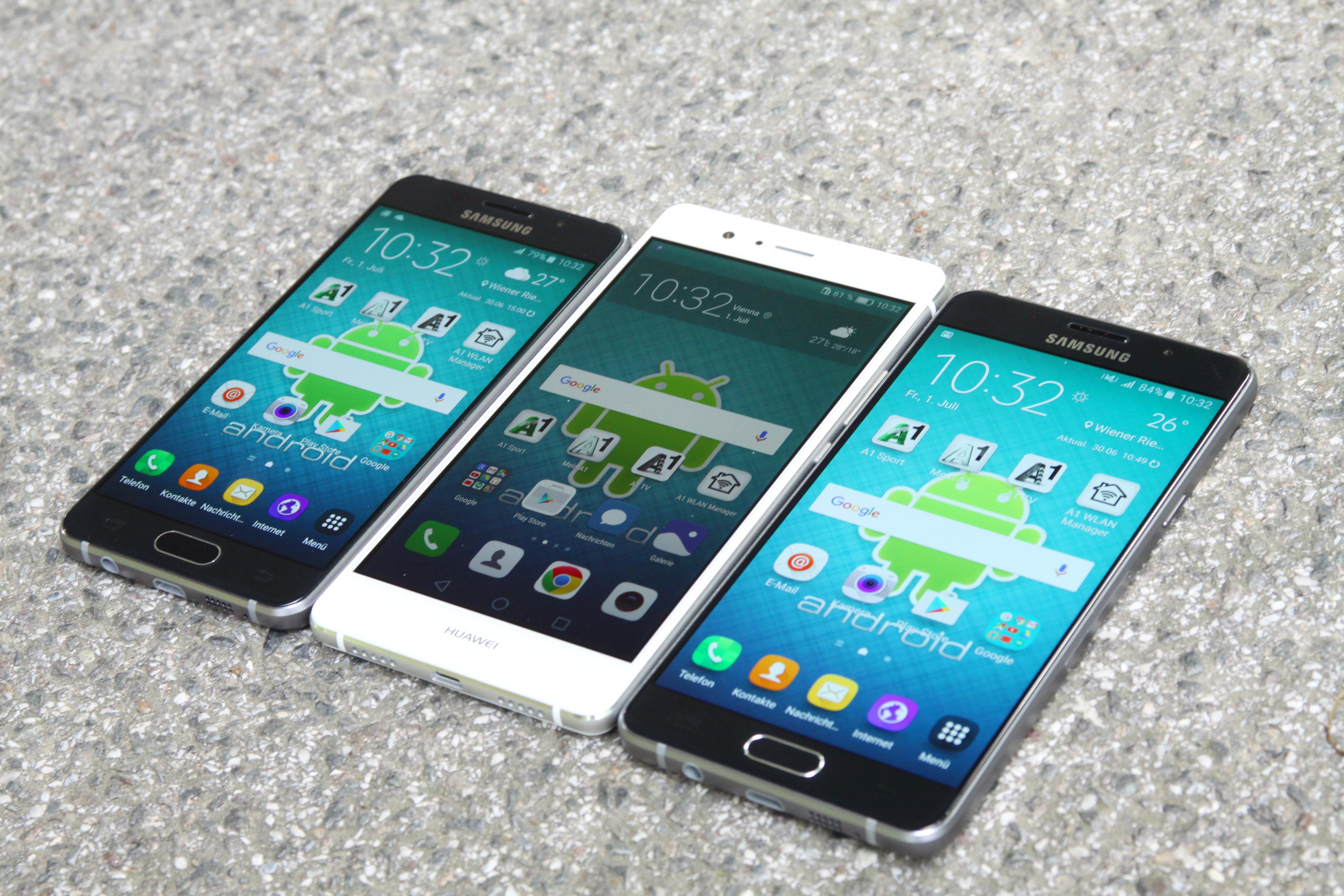 vergleich iphone se und samsung a3