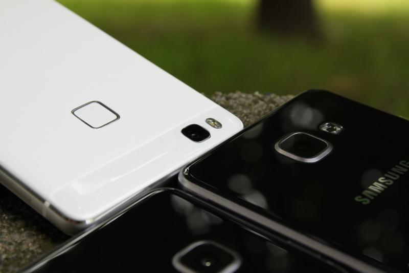 Vergleich Galaxy A3 A5 p9 lite