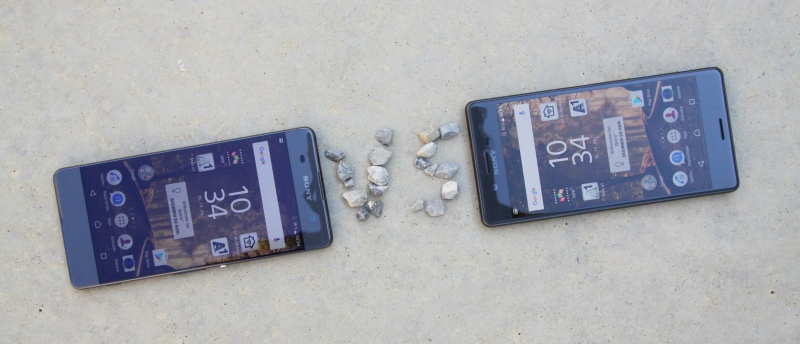 Vergleich Sony Xperia X und XA