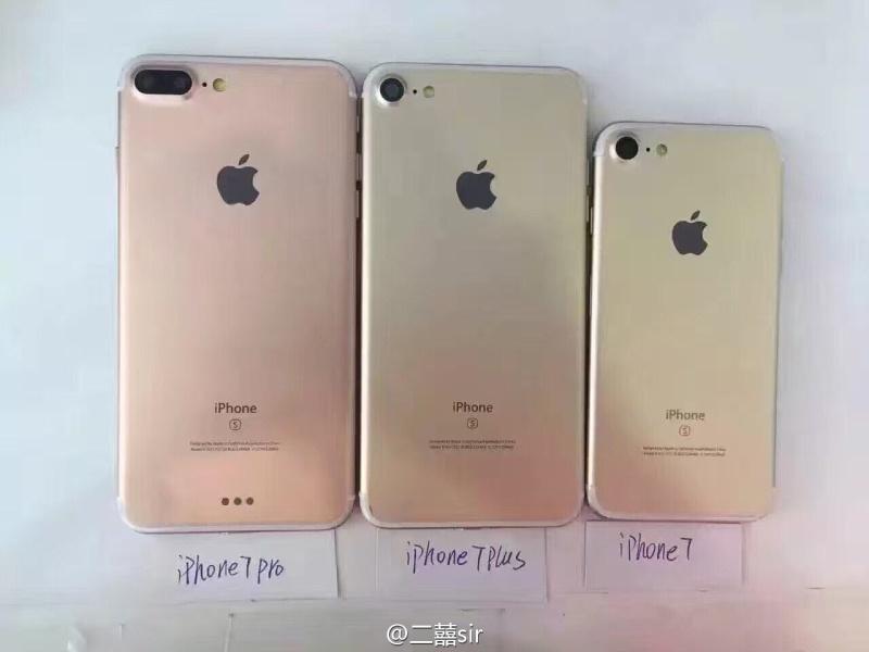iPhone 7 unterschiedliche Modelle