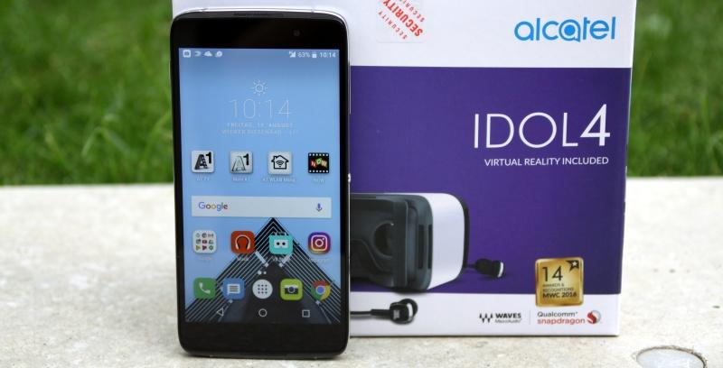 Alcatel Idol 4 Test