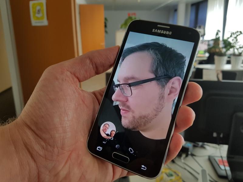 Google Duo Anruf