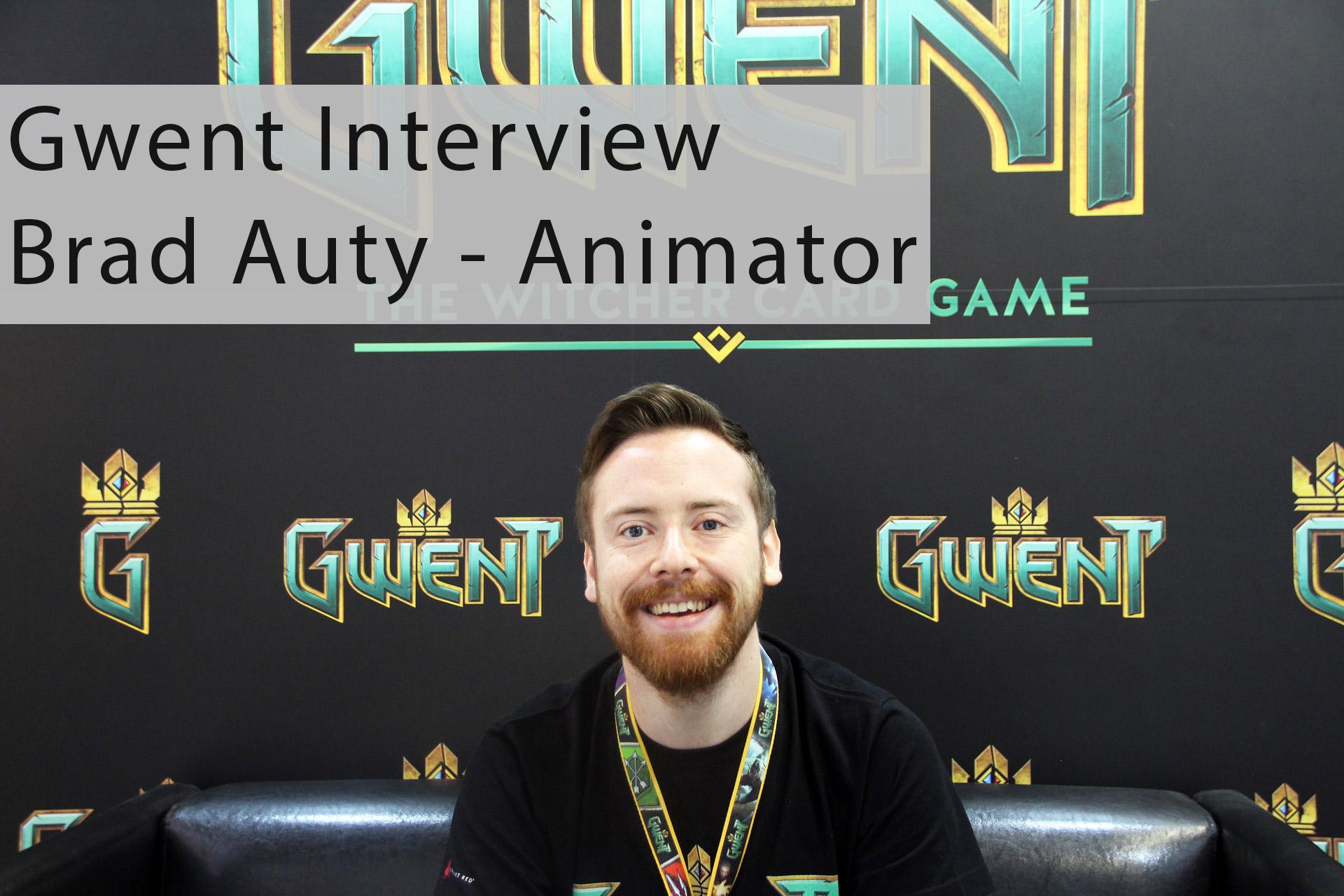 Gwent Interview - Brad Auty über Closed Beta uvm.