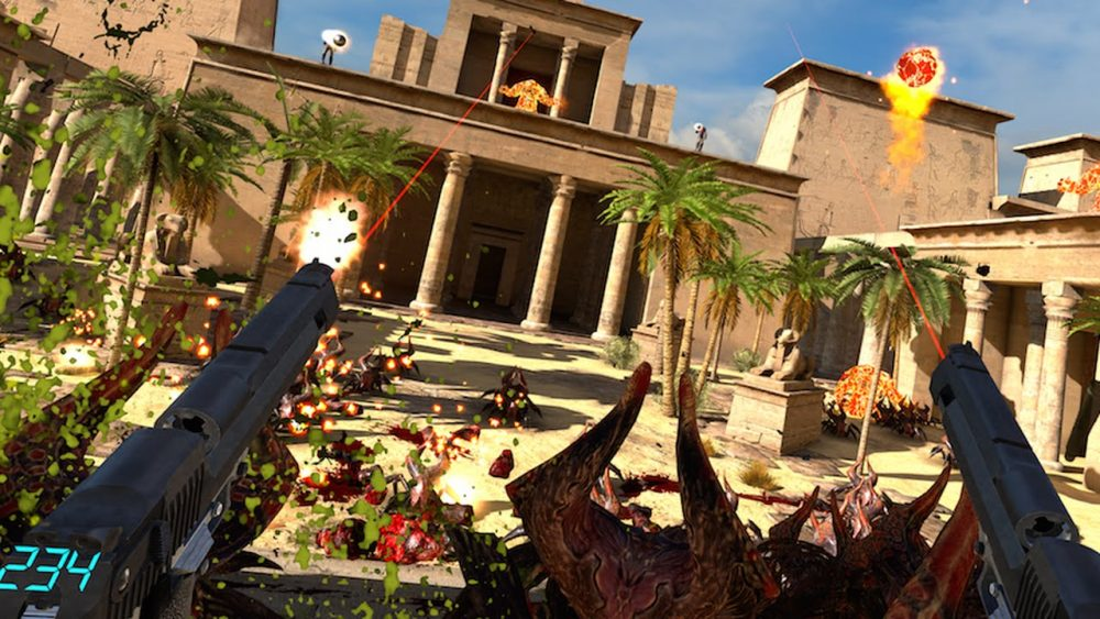 VR Highlights auf der Gamescom 2016 - Serious Sam VR