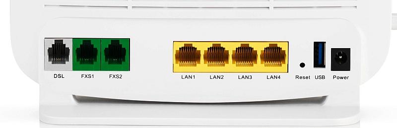 A1 WLAn Box Anschlüsse