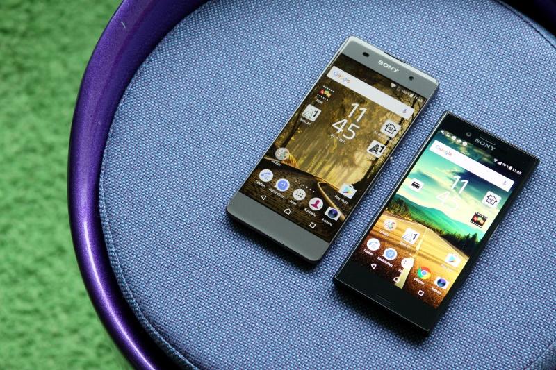 Sony Xperia X compact Vergleich Xperia XA