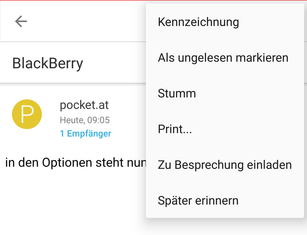 BlackBerry - App-Updates mit neuen Möglichkeiten