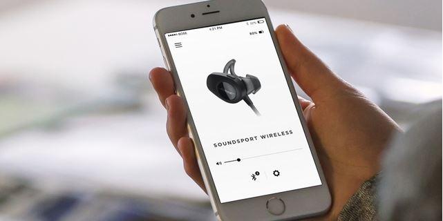 bose soundsport app für kabellose kopfhörer