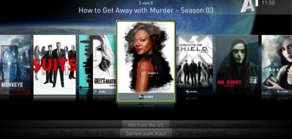 A1 Videothek - Top-Serien nach US-Ausstrahlung