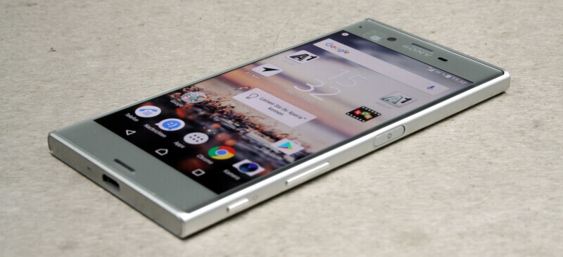 Sony Xperia XZ Test