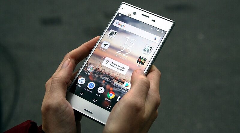 Sony Xperia XZ Test