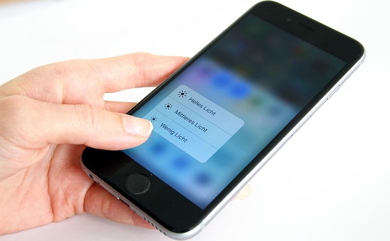iOS 10 neue Features Taschenlampe