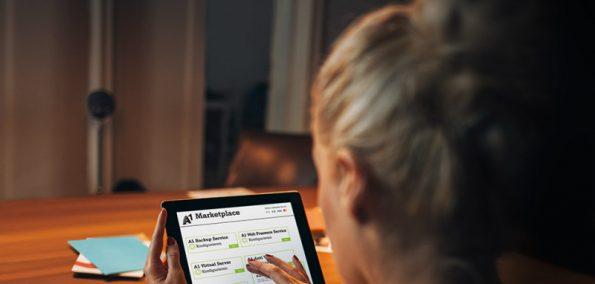 A1 Marketplace mit Webpresence