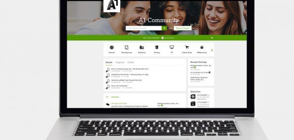 A1 Community Startseite