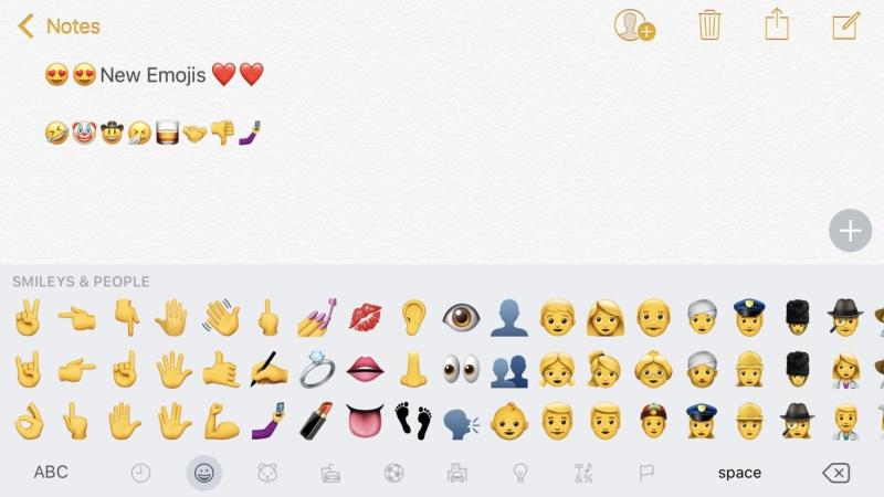 iOS 10.2 neue Emojis