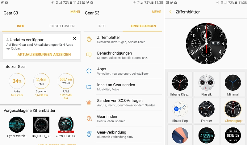 Galaxy Gear S3 Test