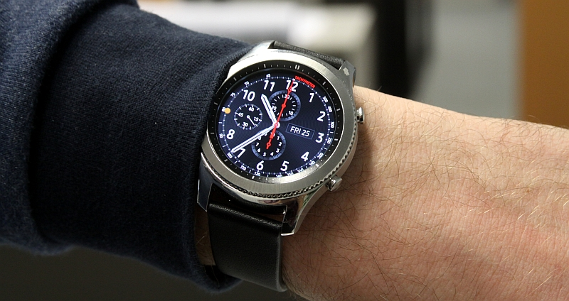 Samsung Galaxy Gear S3 Test