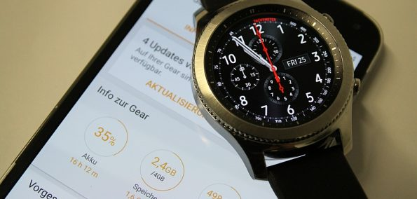 Galaxy Gear S3 Test