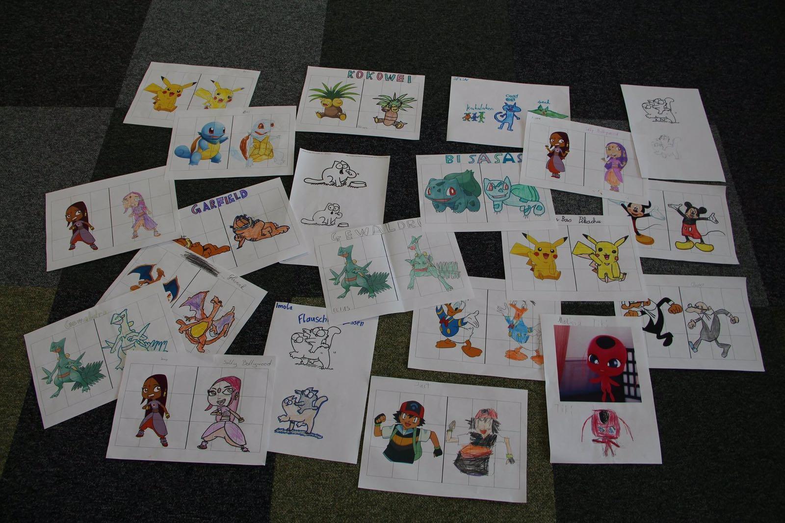 Bei dem A1 Internet für Alle Weihnachtsspecial können Kinder von 6-14 Jahren ihren eigenen Comic entwerfen