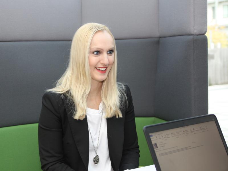 Katalin Kvaszta im A1 Blog Interview