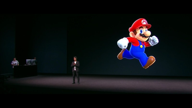 Super Mario Apple Keynote