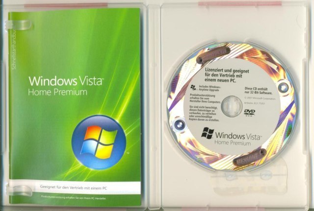 Windows-Vista-Betriebssystem