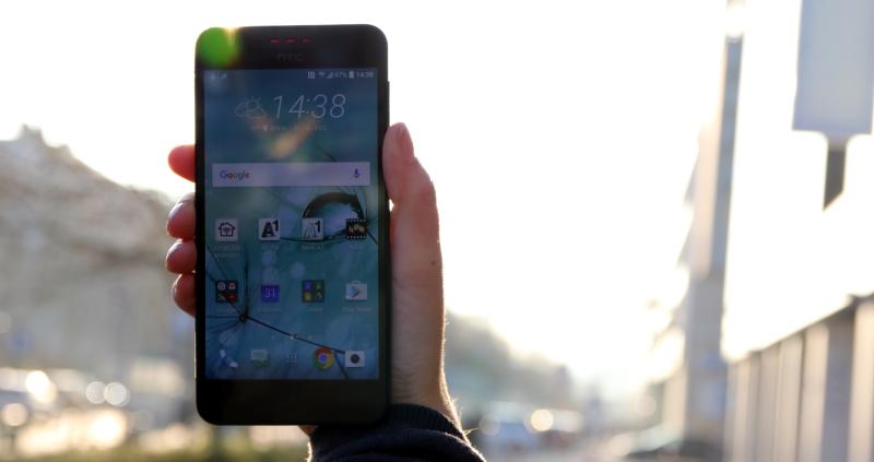 HTC Desire 825 Haptik