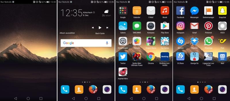 Huawei Nova Screenshots