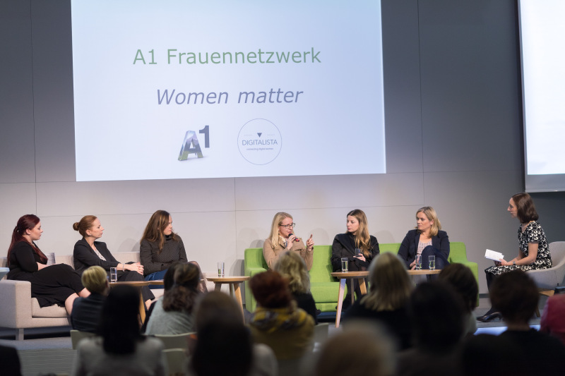 A1 Frauennetzwerk Podiumsdiskussion Digitalisierung