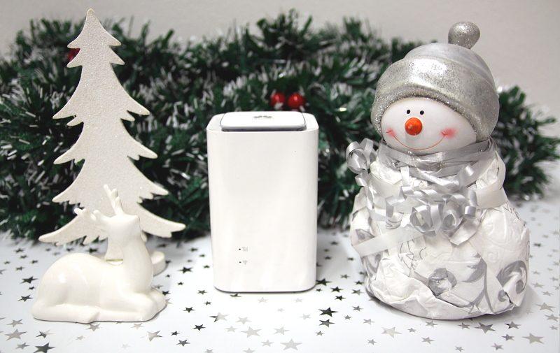 A1 Net Cube Internet einfach zu Besuch zu Weihnachten mitnehmen
