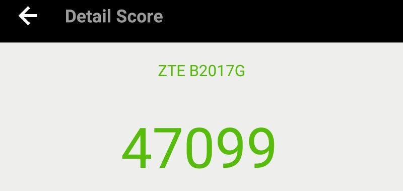 ZTE Axon 7 Mini Benchmarktest