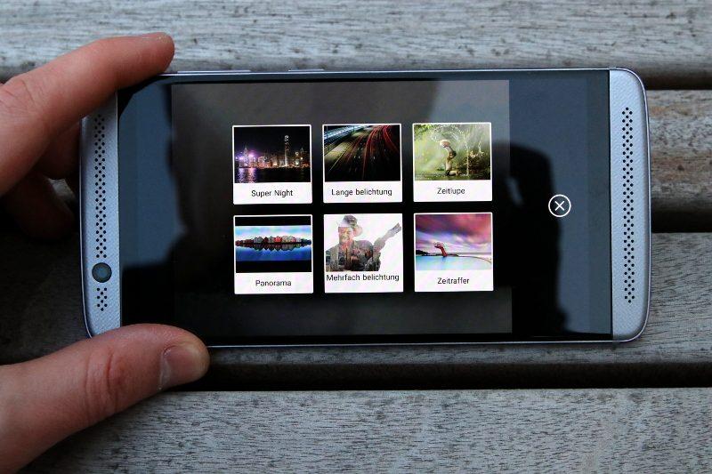 ZTE Axon 7 Mini Kameramodi