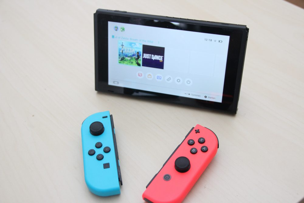Nintendo Switch im Test - Tabletmodus