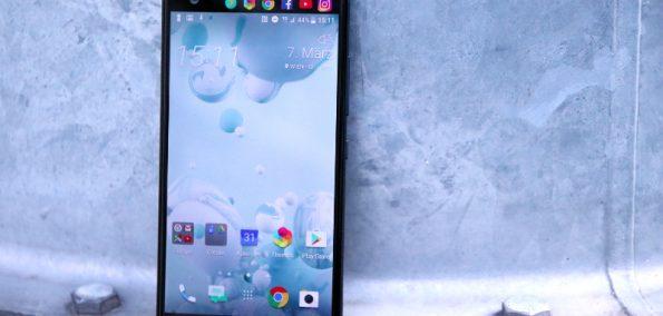 HTC U Ultra Ansicht