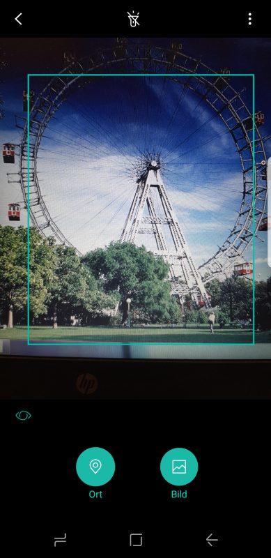 Bixby Vision beim Samsung Galaxy S8