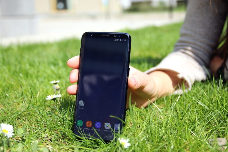 Infinity Display des Samsung Galaxy S8