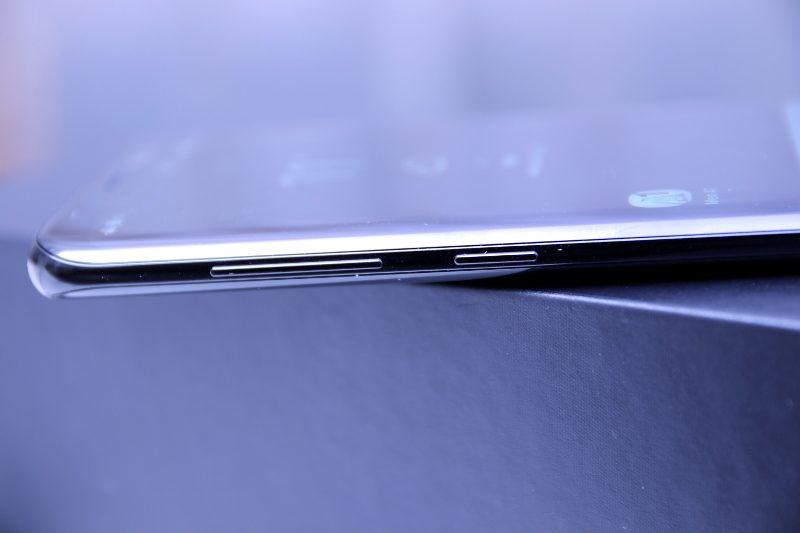 Kanten des Samsung Galaxy S8