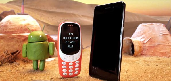 Nokia Android Smartphone am Star Wars Day