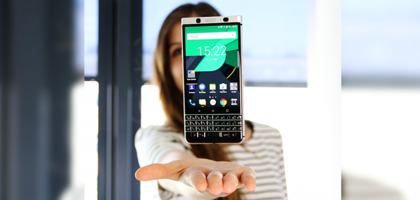 Blackberry KEYone Test