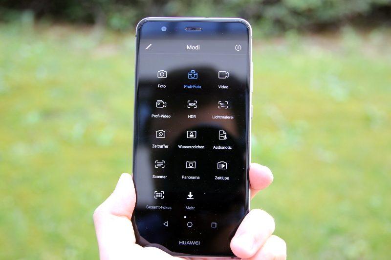 Die Kameramodi des Huawei P10 Lite