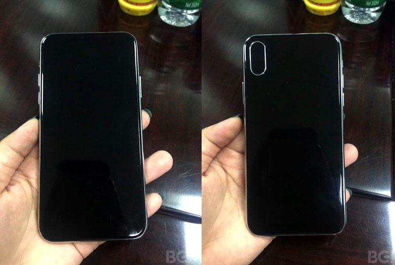 Das neue iPhone Front und Rückseite