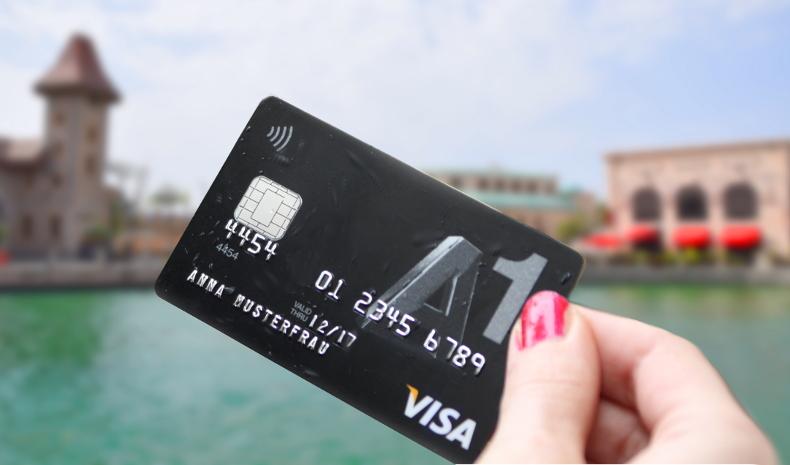 Sicher im Urlaub mit der A1 Visa Karte mit Reiseversicherung