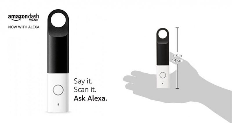 Der Amazon Dash Wand