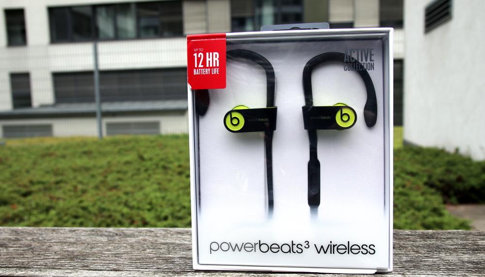 Powerbeats3 Wireless Sport Kopfhörer für Apple iPhone mit Haltebügel