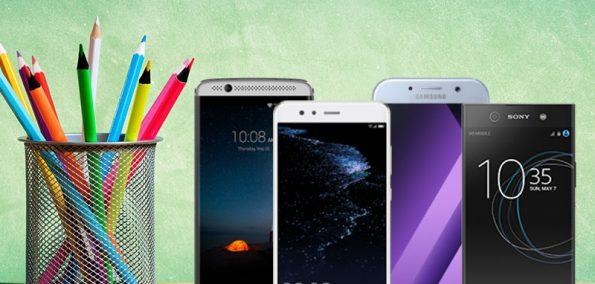 Top Smartphones zum Schulstart