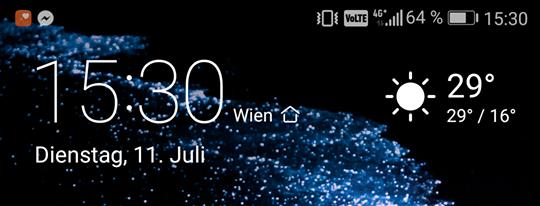 VoLTE am Huawei P10
