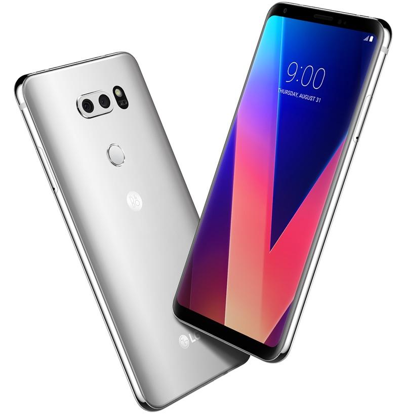 V30 Android-Smartphone - Foto © LG
