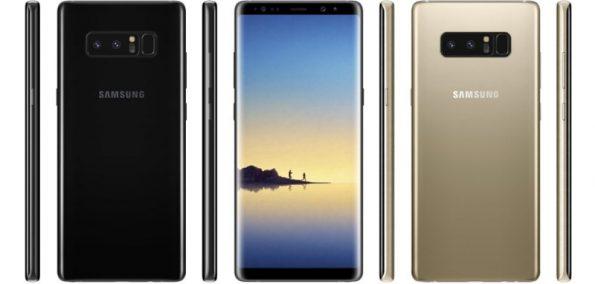Samsung Note 8 Gerüchte