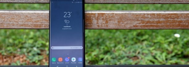 Samsung Galaxy Note 8 Test