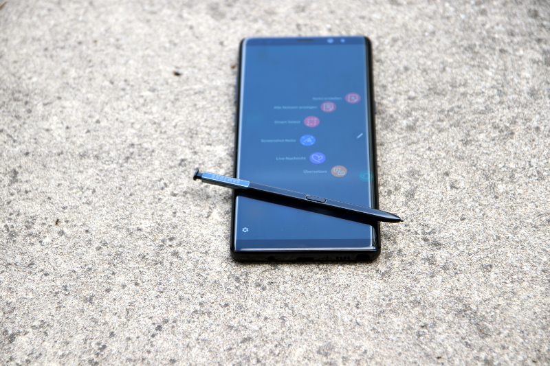 Samsung Galaxy Note 8 im Test: Design